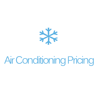Air Conditioning Pricing